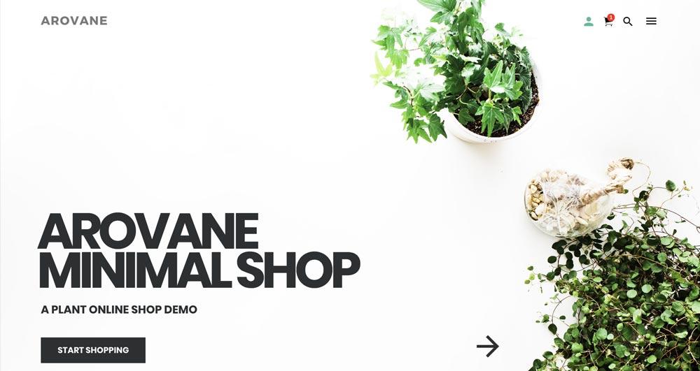 Arovane Theme - Minimal WooCommerce WordPress Theme
